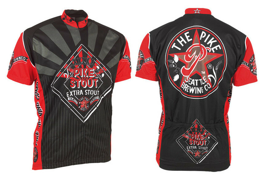 Microbrewery Men's Seattle Brewing Cycling Jersey 3XL Hard to find  big sizes   big discount