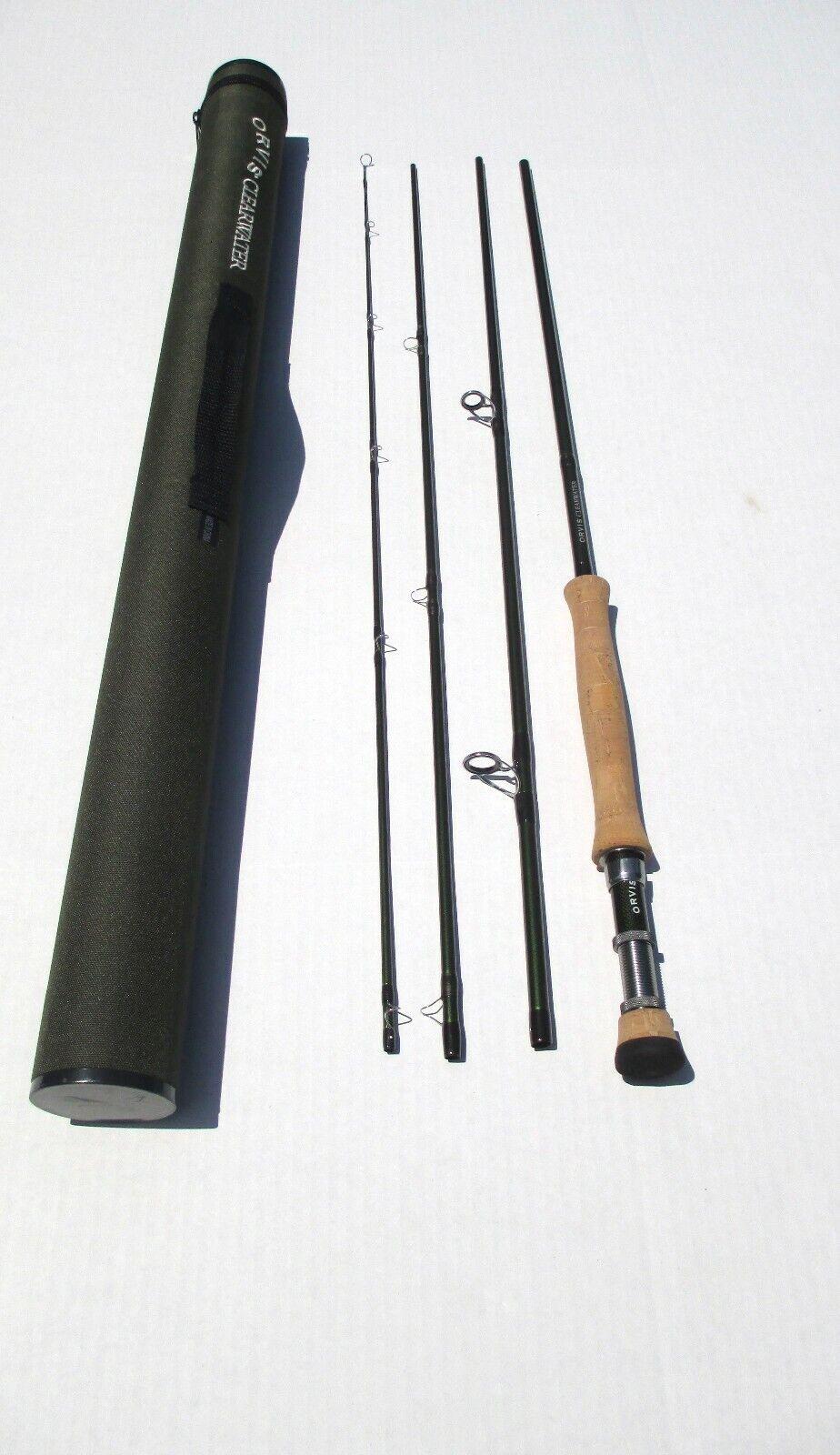 Orvis Clearwater 909-4 9' Fliegen Fishing Rod 4 PC 9 WT in Tube Nice