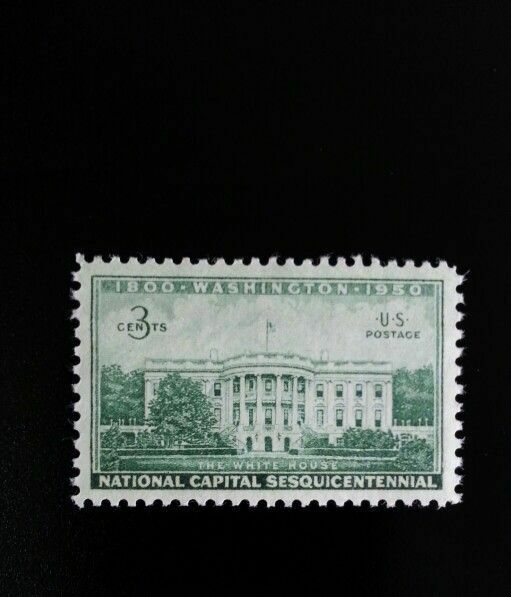 1950 3c Executive Mansion, The White House, Washington