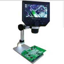 G600 Digital Portable 1-600X 3.6MP Microscope Continuous Magnifier with 4.3inch
