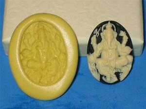 Details about Hindu Ganesh Cameo Push Mold Food Safe Silicone Cake  Chocolate Resin Clay A287