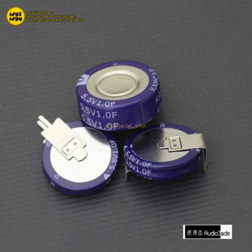 1F 5.5V KAM C V H type Double Layer Farad Super Capacitors Audio Jade