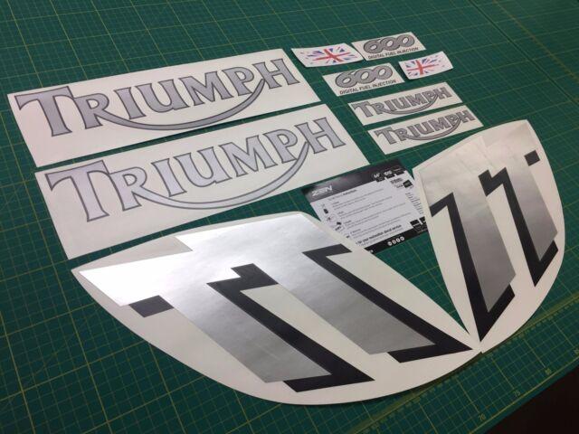 Sprint ST triumph fairing decals stickers graphics restoration replacement side