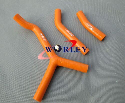 FOR KTM 250 SX S 2003 2004 2005 2006 silicone radiator hose orange