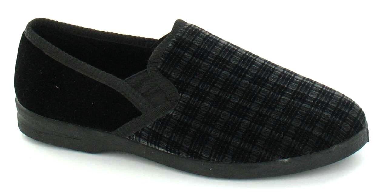 Nero Uomo da Uomo Nero Stile Classico Pantofola X2006 a57e8b