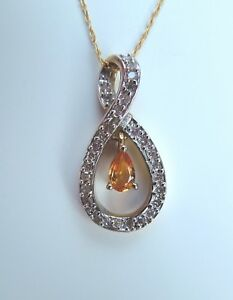 Lovely-Citrine-and-Genuine-Diamond-Necklace-0-31ctw-in-10K-Yellow-Gold-18-034