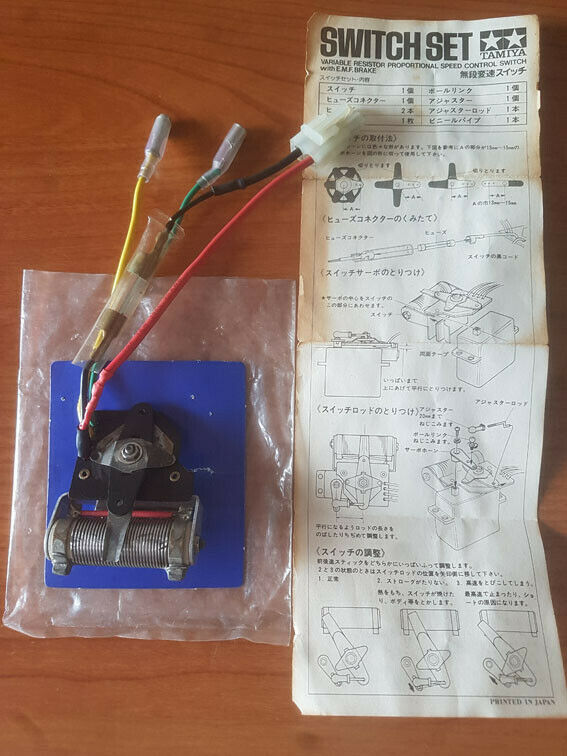 Tamiya R/C vintage regolatore meccanico (Tamiya SP 1054 50054 MSC switch set)