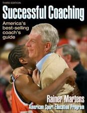 Successful Coaching - 3rd Edition, Rainer Martens, 0736040129, Book, Acceptable