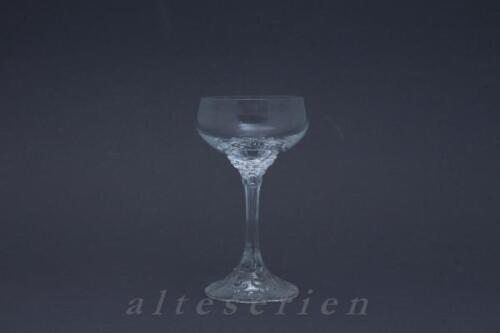 ohne Schliff Likörschale D 6,6 cm H 12,5 cm Rosenthal Monbijou glatt