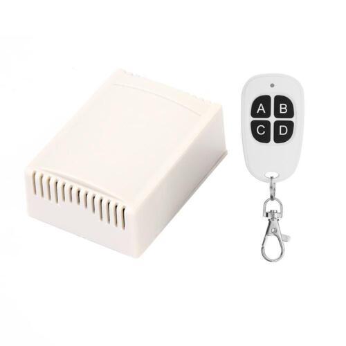 DC24V 433MHz 4CH Wireless Remote Control Switch Relay Transmitter+Receiver NIGH