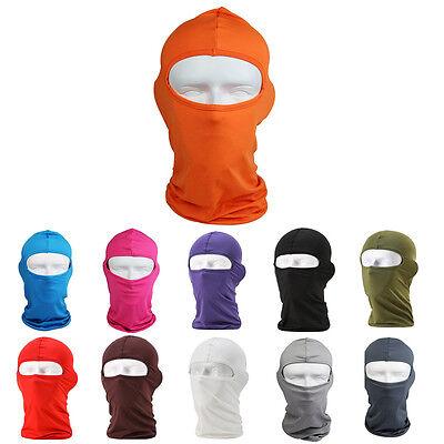Outdoor Motorcycle Cycling Ski Neck Protecting Lycra Balaclava Full Face Mask