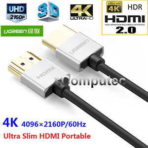 UGREEN-Platinum-1-5m-Alloy-HDMI-Cable-V2-0-4K-2K-2160P-60Hz-Ultra-Slim-Portable