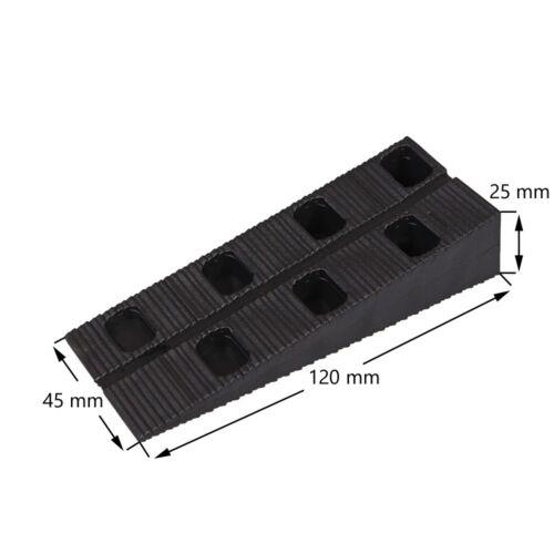 50 Inovatec Plastic Wedge Mounting Wedges Window Doors Door Stopper Assembly