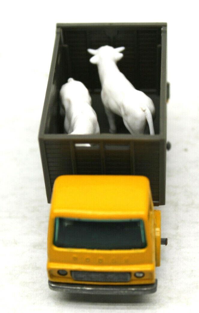 Propietario original 1 1966 1967 Lesney Matchbox 5pc Lote De De De Caballos Granja De Inglaterra Diecast c14071
