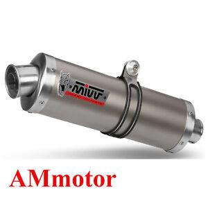 Mivv-Yamaha-Fz1-Fz1-Fazer-2010-10-Pot-D-039-Echappement-Moto-Oval-Titanium