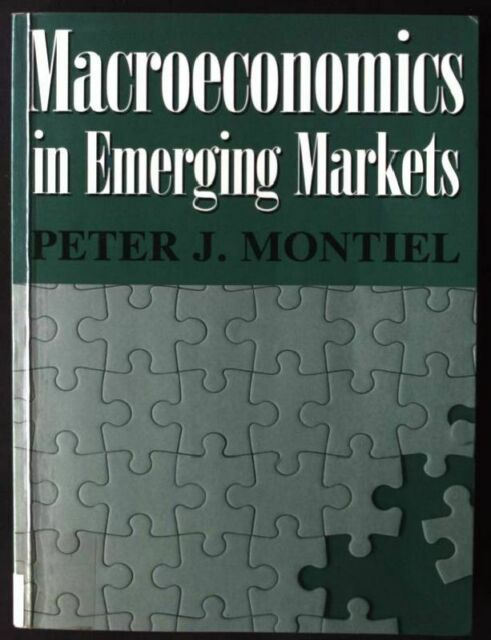 Macroeconomics in Emerging Markets Montiel, Peter: