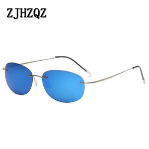 9fa57feac0 Image is loading Pure-100-Titanium-Lightweight-8g-Only-Hingeless-Rimless-
