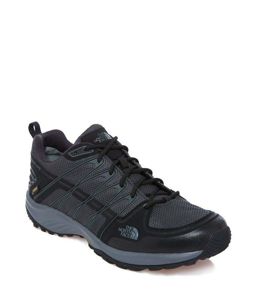 2019 Nouveau Style The North Face Scarpe Litewave Explorer Gtx Black Grey Size Eur 44 - 44,5 Couleurs Fantaisie