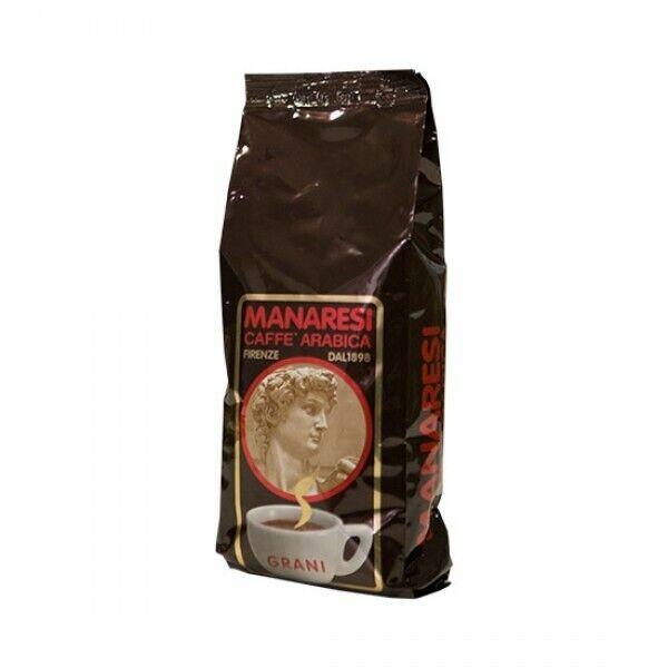 Coffee Beans Online >> Italian Caffe Manaresi Grani 60 40 Arabica Robusta Coffee Espresso Beans 500g