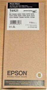 GENUINE EPSON T6921 Photo Black ORIGINAL 110ml OEM ink C13T692100 & VAT invoice