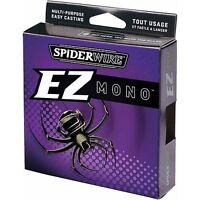 Spiderwire Ez Mono Fishing Line 10 (220 Yds) - Fluorescent Clear/blue