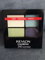 """REVLON COLORSTAY #540 """"INSPIRED"""" EYE SHADOW QUAD - NEW (DISCONTINUED)"""