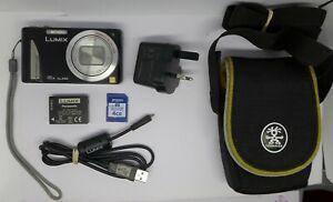 Panasonic Lumix Dmc-tz25 Appareil Photo Numérique 12.1mp - Noir + Carte Mémoire 4 Go-afficher Le Titre D'origine 100% D'Origine