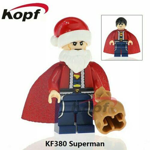 Superman Santa minifiguras coleccion  navidad