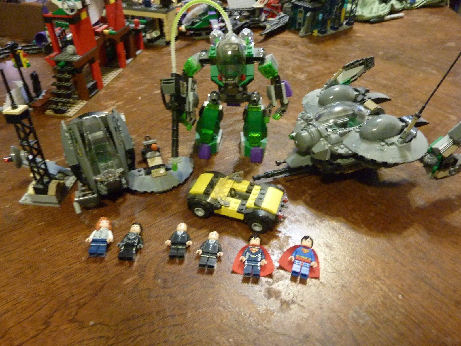 Lego Superhomme  Super Heroes Set Lot 76003 76009 6862 76002 Minifigures Parts  offrant 100%
