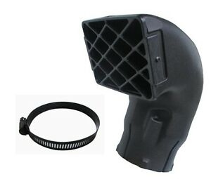Compatible-4x4-Off-Load-Snorkel-Head-Intake-Ram-3-5-inch-3-5-039-039-Inlet-Free-Clamp