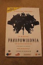 The Mothman Prophecies (2002) Polish promo FLYER