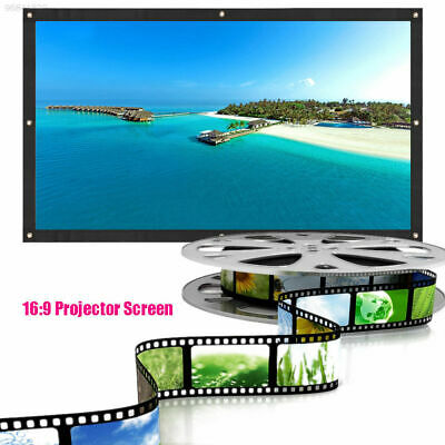 "60/""-150"" 16:9//4:3 3D HD Electric Motorized// Manual//Tripod Projector Screen Movie"