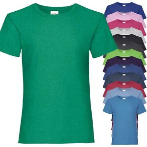 T-Shirt Bambina Fruit of the Loom Valueweight Girls