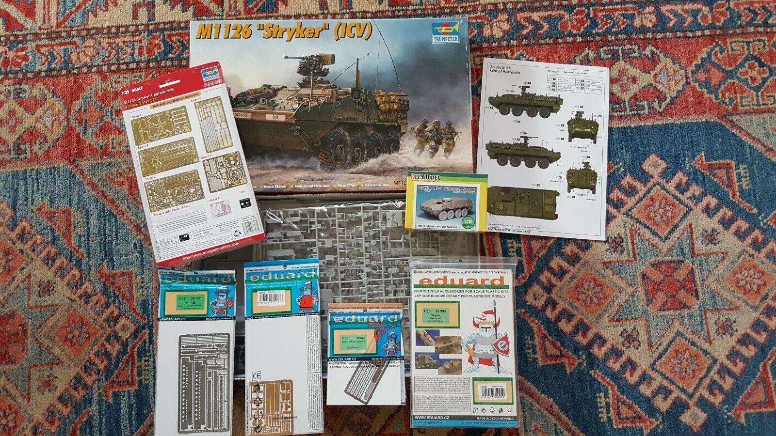 M1126 STRYKER – ICV – TRUMPETER – 1 35 – AFGHANISTAN