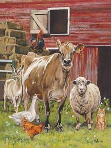 barnyardigansbonnie mohr cow chicken cat farm