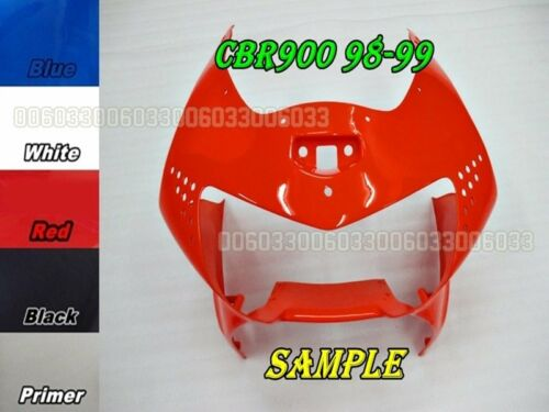 ABS Head Front Upper Top Fairing for Honda CBR900RR Fireblade 98-99 33#G