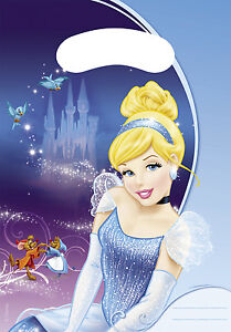 Cinderella-Party-Bag-Disney-Loot-Bag-Birthday-Bag-Goody-Party-Bag-Pack-of-6
