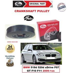 GATES-CRANKSHAFT-BELT-PULLEY-for-BMW-518d-520d-xDrive-F07-GT-F10-F11-2009-gt-on