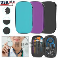 For Stethoscope 3m Littmann Classic Ii Iii Se Hard Carry Storage Case Bag Pouch