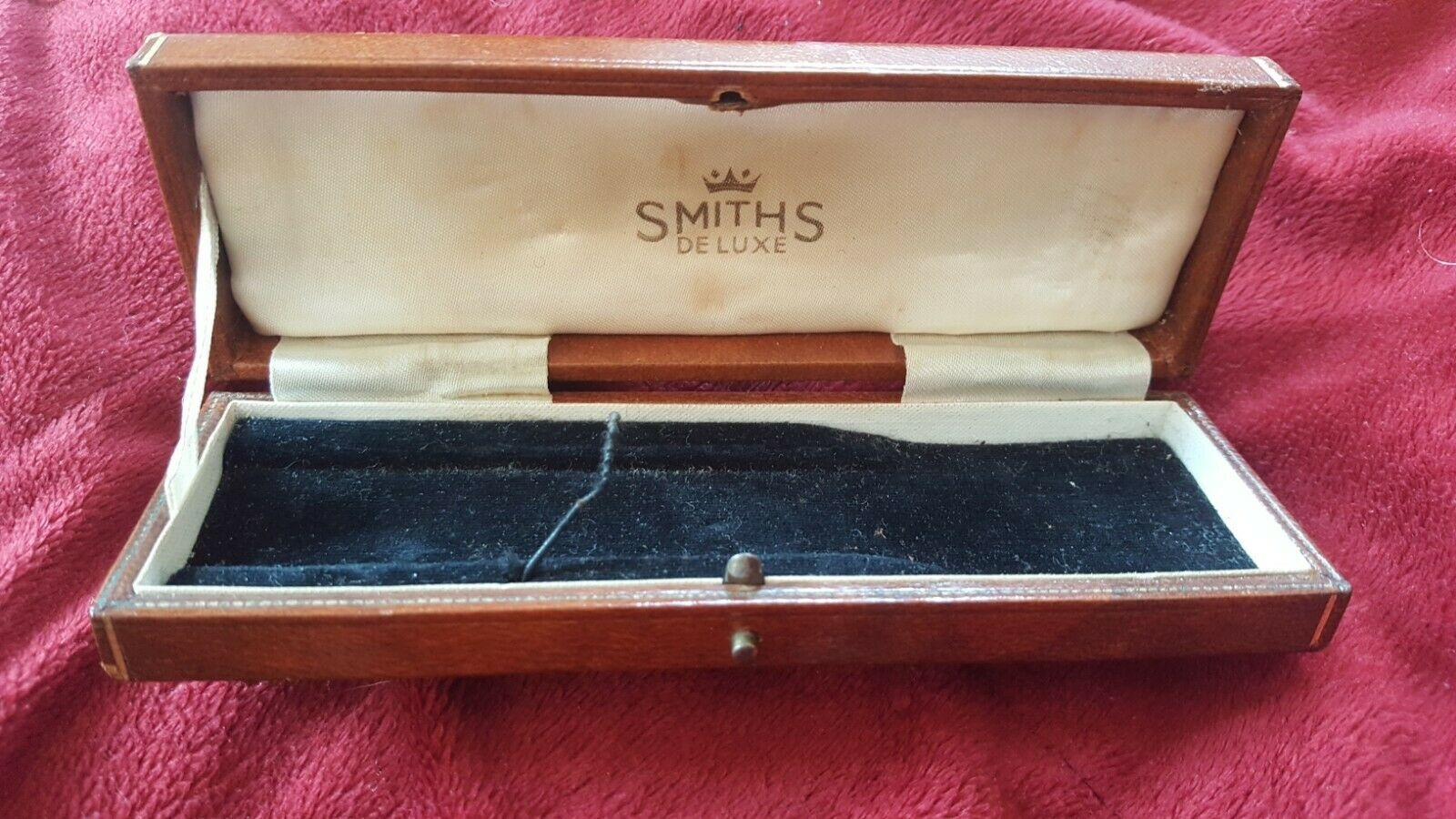 Ultra Rare Smiths Watch Presentation case for 1950s or later watch.