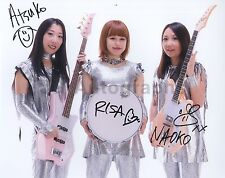 Shonen Knife - Japanese Pop-Punk Band - Autographed 8x10 Photo - Signed by 3