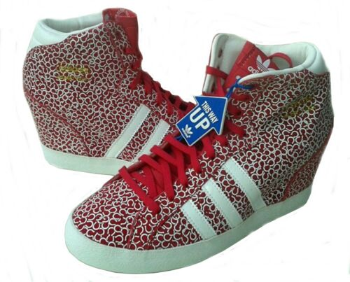 Adidas Womens Basket Profi UP Boot Shoes Wedge Trainers  6.5uk,7uk,7.5uk  D65829