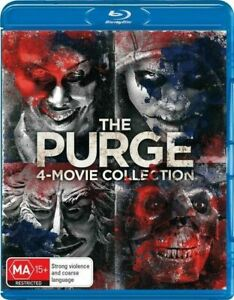 The-Purge-4-Movie-Collection-Blu-Ray-BRAND-NEW-amp-SEALED-REGION-B