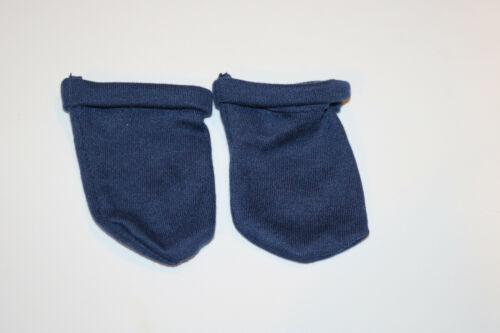 Cabbage Patch Kids Modern PA Blue Cuffed Knit Socks 16 in