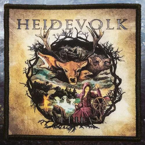 VeluaPrinted PatchFolk Viking Metal Heidevolk