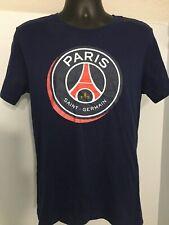 Nike PSG Paris Saint‑Germain FC Crest T‑Shirt Red//White 832674-600 Mens SZ large