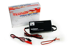 Tenergy Universal Smart RC Battery Charger for 6V-12V NiMH/NiCd Battery Packs