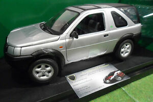 Land Rover Freelander Gris 1/18 Ertl Collectibles 40651 Voiture Miniature 4x4