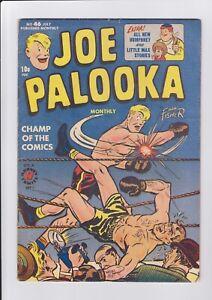 Joe-Palooka-46-July-1950-Harvey-Comics-VG-Boxing-Ring-Cover