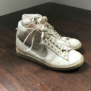 Details about Vintage 80s Nike Blazer Recognition Hi Basketball Shoes Size  7.5 1980s